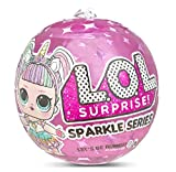 L.O.L. Surprise! 26559665E7C Surprise Doll Sparkle Series Figurine à Collectionner avec Paillettes et 7 Surprises 1 sur 12 poupées à Collectionner dans Un Pack Surprise