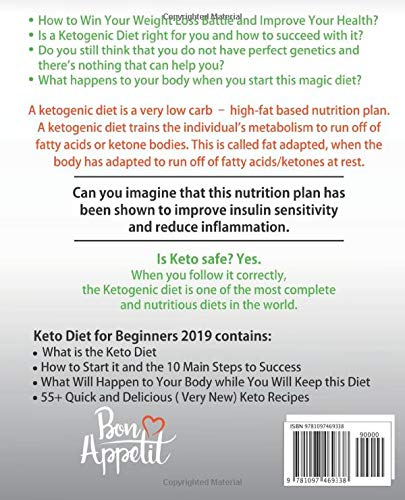 Keto Diet for Beginners 2019: 10 Simple Steps to Keto Success. Easy and Healthy Everyday Ketogenic Diet Recipes You'll Love 2