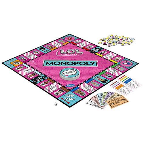 Image 3 - Hasbro Monopoly – Jeu Monopoly L.O.L, multicolore, E7572103, version italienne