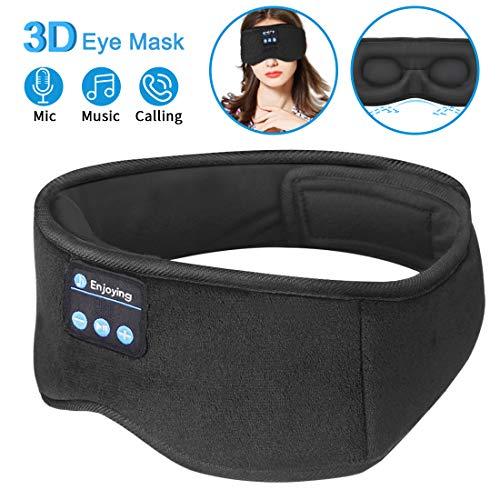 Sleep Headphones Bluetooth Eye Mask,ZesGood 3D...