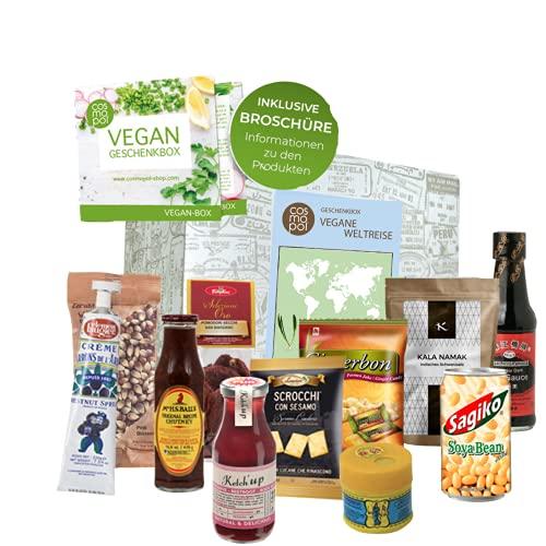 Vegane Weltreise Geschenk für Frauen Männer | Vegane Ernährung aus aller Welt | Vegan kochen |...