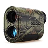 Gogogo Sport Vpro 6X Hunting Laser Rangefinder Bow Range Finder Camo Distance Measuring Outdoor Wild...