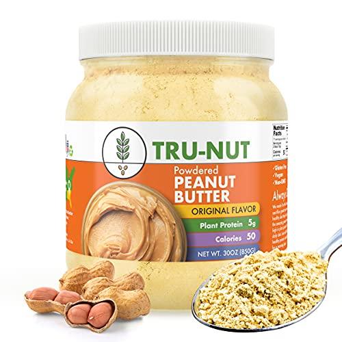 Tru-Nut Powdered Peanut Butter - 30 oz Jar