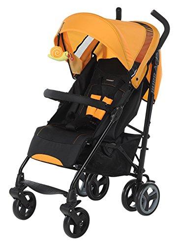Foppapedretti Hurra Passeggino, Arancione, leggero e compatto