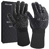 MILcea Grillhandschuhe Ofenhandschuhe BBQ Handschuhe...