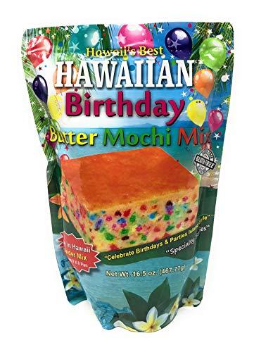 Hawaiian Birthday Cake Butter Mochi Mix