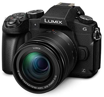PANASONIC Lumix G85 4K Digital Camera, 12-60mm Power O.I.S. Lens (Black)