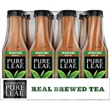 Pure Leaf Iced Tea, Unsweetened, Real Brewed Black Tea, 0 Calories, 18.5 Fl Oz, Pack of 12