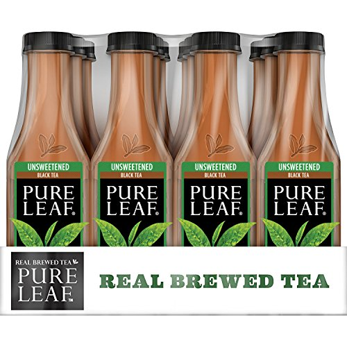 Pure Leaf Iced Tea, Unsweetened, Real Brewed Black Tea, 0...