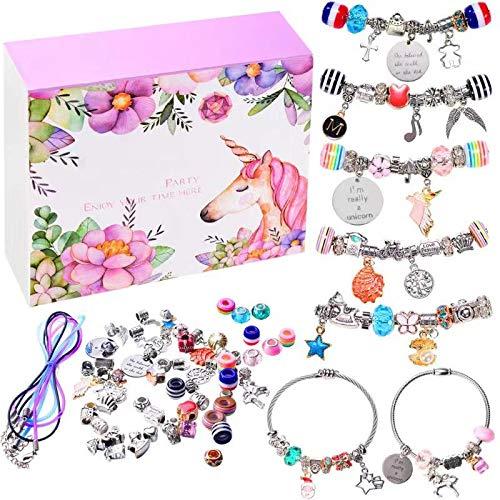 monochef DIY Charm Bracelet Making Kit, Jewelry Making...