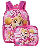 Nickelodeon Girl Paw Patrol 16' Backpack With Detachable Matching Lunch Box