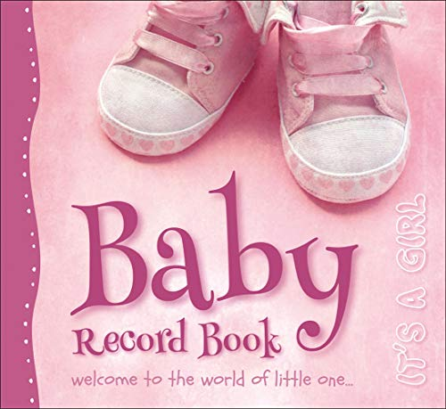 Baby Record Book - It's a Girl