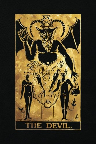 The Devil: 120 College Ruled Lined Pages, The Devil Tarot...