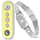 Bousnic Dog Shock Collar with Remote - Small Size for Dog 8-120lbs 1000ft Waterproof Rechargeable e...