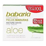 Babaria Crema Facial Pieles Maduras Aloe Vera 20% XXL - 125 ml (BAB31205)