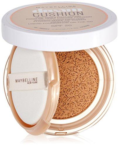 Maybelline Dream Cushion Makeup | Vloeibare foundation voor een ochtendverse teint | Met spiegel