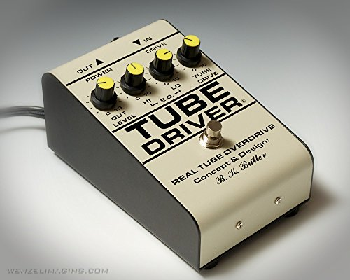 TUBE DRIVER Original by BK BUTLER with BIAS CONTROL 【徹底解説】Andy Timmons(アンディ・ティモンズ)のエフェクターボード・機材を解析!ツマミ・ノブの位置も分かる!ギターを支える機材の数々を紹介!【ペダル・アンプ金額一覧】