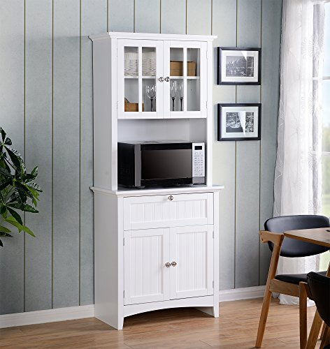 American Furniture Classics OS Home and Office Buffet and Hutch with...