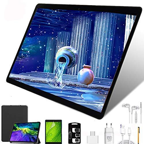 Tablet 10 Pollici con Wifi Offerte,4G LTE Dual Sim, 64 GB ROM,4GB RAM,Octa-Core 8000mAh...