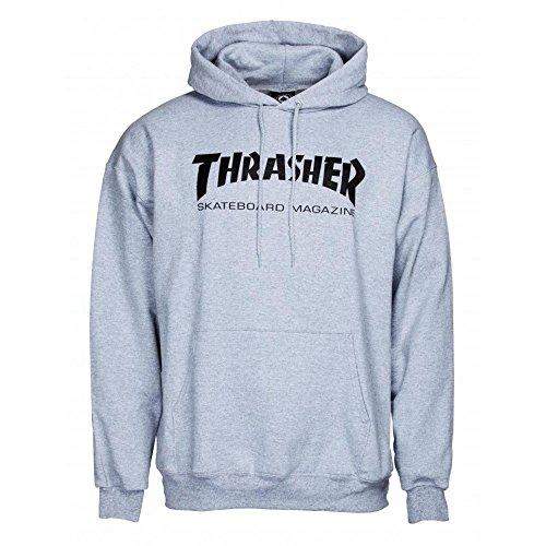 THRASHER Skate mag Hood Sudadera, Unisex Adulto, Gray, M