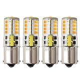 Ba15s 1156 p21/5w 12v LED Ampoule, HRYSPN 5 W Blanc chaud 3000 K 500lm, Feu...