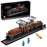 LEGO Crocodile Locomotive 10277 Building Kit; Recreate the Iconic Crocodile Locomotive with This Train Model; Makes a Great Gift Idea for Train Enthusiasts, New 2020 (1,271 Pieces)