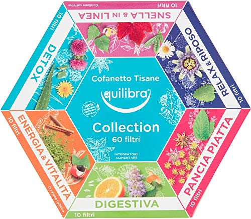 Equilibra Cofanetto Tisane Collection 60 filtri