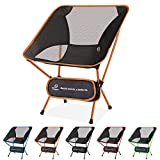 Tinya Ultralight Backpacking Camping Chair: Kids Adults Backpacker Heavy Duty 230lb Capacity Packable Collapsible Portable Lightweight Compact Folding Beach Outdoor Picnic Travel Hiking