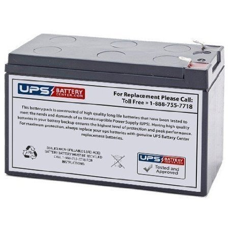 RB1280A Compatible - Replacement Battery Cartridge for RB1280A, CP850AVRLCD, CP825AVR-G, CP825LCD, CP800AVR, CP825AVRLCD-G by UPS Battery Center