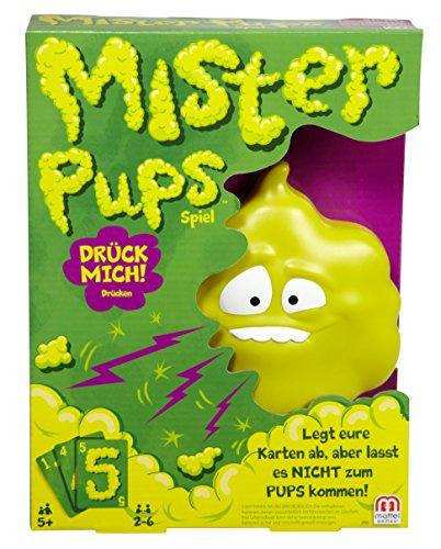 Mattel Games DPX25 - Mister Pups lustiges Kartenspiel und Kinderspiel geeignet fr 2 - 6 Spieler, Kinderspiele ab 5 Jahren, Mehrfarbig