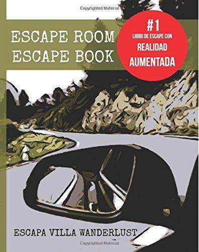 Escape room Escape book - Escapa Villa Wanderlust. Enigmas. Realidad aumentada: Juego de enigmas con