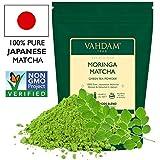 VAHDAM, té verde Matcha Moringa (50 porciones) | 100% PURE Matcha Tea Powder de origen japonés |...