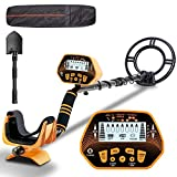 Metal Detector - SUNPOW High Accuracy Metal Detector for Adults & Kids, LCD Display with Adjustable...