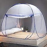 OTraki Moustiquaire de Lit Pliable Pop Up 180 * 200 * 150cm Dome...