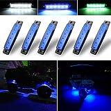 Botepon 6Pcs Led Rock Lights, Strip Lights, Wheel Well Lights, Led...