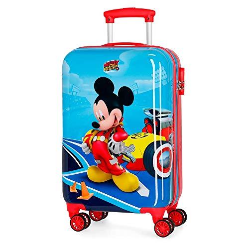 Disney Lets Roll Mickey Valigia per bambini 55 centimeters 37.4 Multicolore (Multicolor)