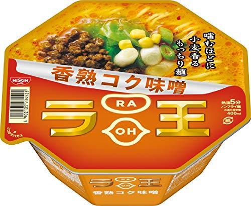 日清ラ王 香熟コク味噌 122g×12個