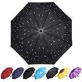 YumSur Parapluie Pliant, Automatique Ouverture et Fermeture Résistant à...
