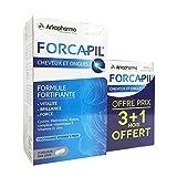 Arkopharma - Forcapil - Formule fortifiante pour Cheveux et Ongles - Promo 3 Mois + 1 Mois Offert - 240 Gélules