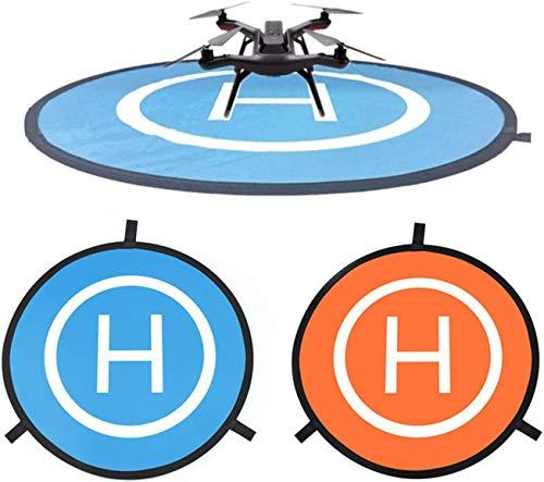 CaLeQi Drone Landing Pad Universale Impermeabile Portatile Pieghevole Landing Pad 55cm/21.65 ''per...