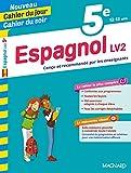 5E ESPAGNOL CAHIER DU JOUR CAHIER DU SOI