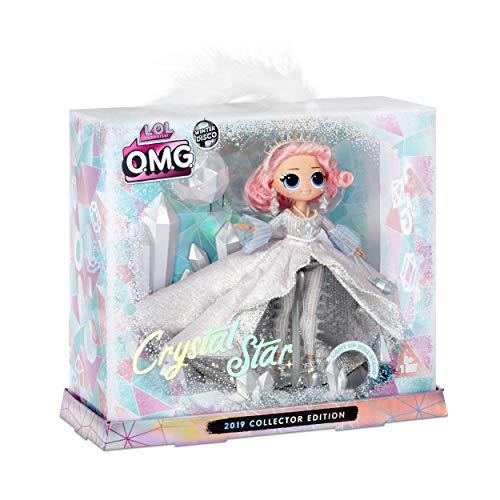 Image 3 - L.O.L. Surprise, O.M.G. Collector Winter Disco - 1 Poupée 27cm Collector, 1 support effet crystal lumineux, accessoires, piles incluses, jouet pour enfants dès 3 ans, LLU97
