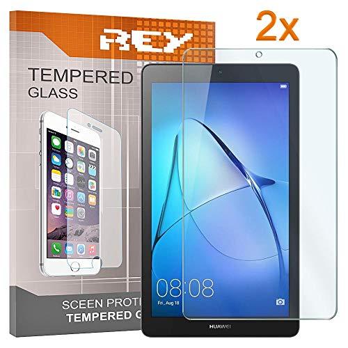 Pack 2x Pellicola salvaschermo per HUAWEI MEDIAPAD T3 7', Pellicole salvaschermo Vetro Temperato 9H+, di qualità Premium Tablet