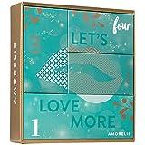 Erotische Adventsbox Adventskalender von AMORELIE 2018, 4 sinnliche und hochwertige Überraschungen für jeden Adventssonntag - Advent Kalender für Erwachsene Paare + Parfumproben