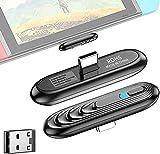 Aigital Adaptateur Bluetooth 5.0 pour Nintendo Switch/ Switch Lite PS4 PC, TV...
