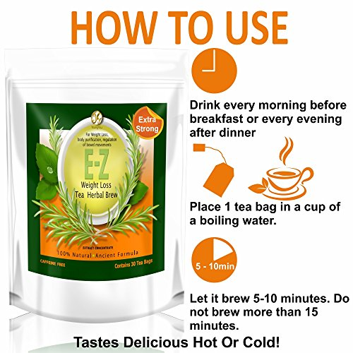 E-Z Detox Diet Tea & Slim for Life Detox Tea 4