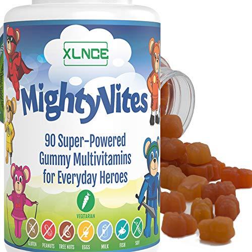 Gummy Vitamins: Kids Multivitamin Chewable Vitamin C Gummies for Immune Support Plus Vitamin D3. Gluten Free Elderberry Gummies with Vitamins A to Zinc, B12 for Energy and Kids Vitamin C.