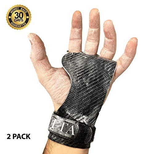 BECUSSITTA   Paracalli Crossfit Uomo Donna Super Grip   Guanti Protezione Palestra   Hand Grips...