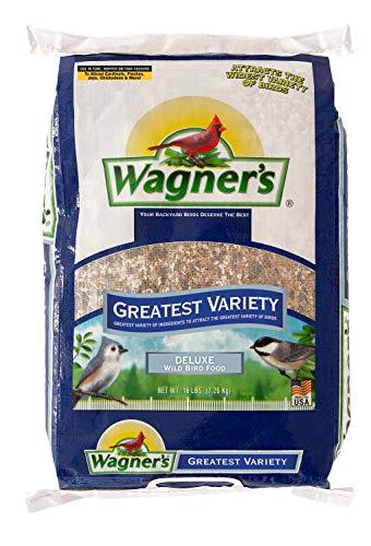 Wagner's 62059 Greatest Variety Blend Wild Bird Food, 16-Pound Bag