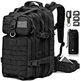 EMDMAK Military Tactical Backpack, 42L Large Military Pack Army 3 Day...